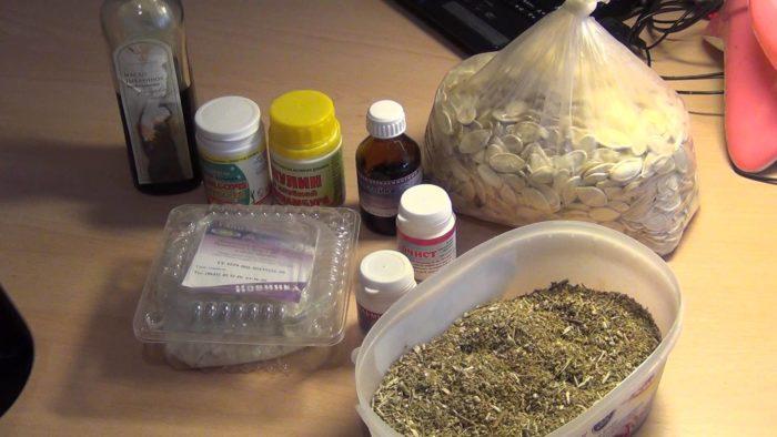 методики очищения организма от паразитов