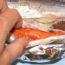 Икра рыбы и паразиты